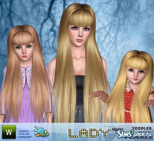 Прическа Lady