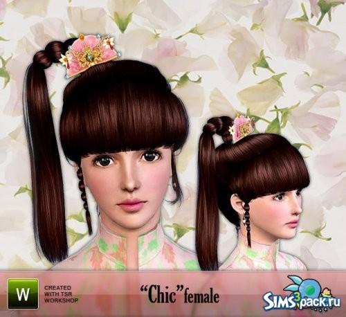 Прическа Chic