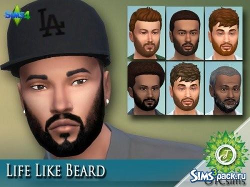 Борода Life Like Beard