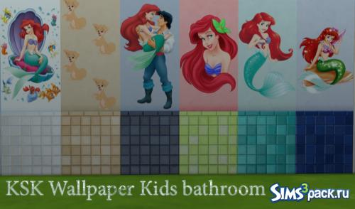 Плитка для ванной детская