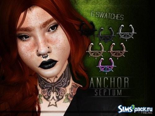 Кольцо в нос Anchor