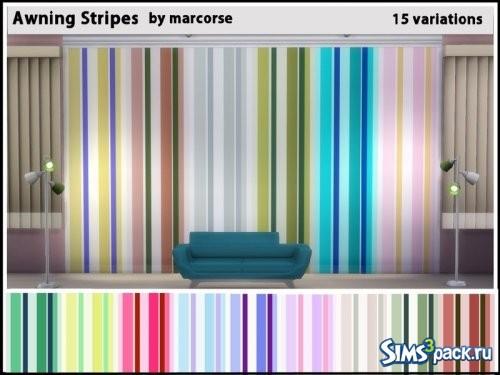 Настенное покрытие Awning Stripes