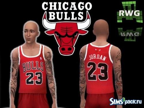 Майка Michael Jordan CHICAGO BULLS 23