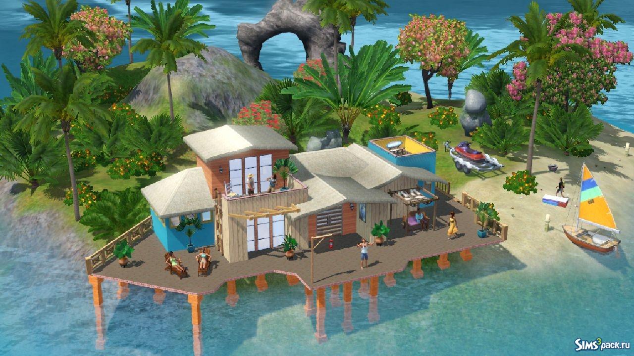 Скачать the sims 3 райские острова бесплатно.