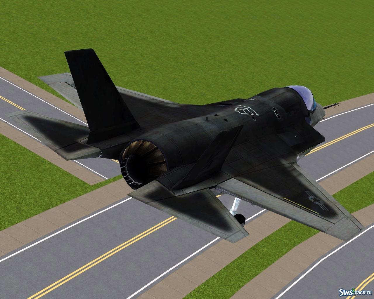 Обои F-35, lightning ii, истребитель, бомбардировщик, суша. Авиация foto 16