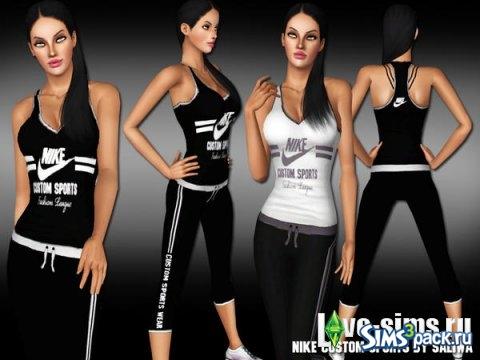 78cd4e6c0 Женский спортивный костюм Nike. Спортивная одежда ...