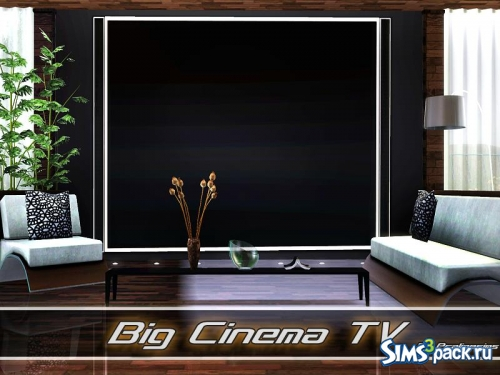 Телевизор Big Cinema TV от Pralinesims