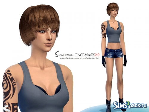 Скин WMLL Facemask 2.0 от S-Club