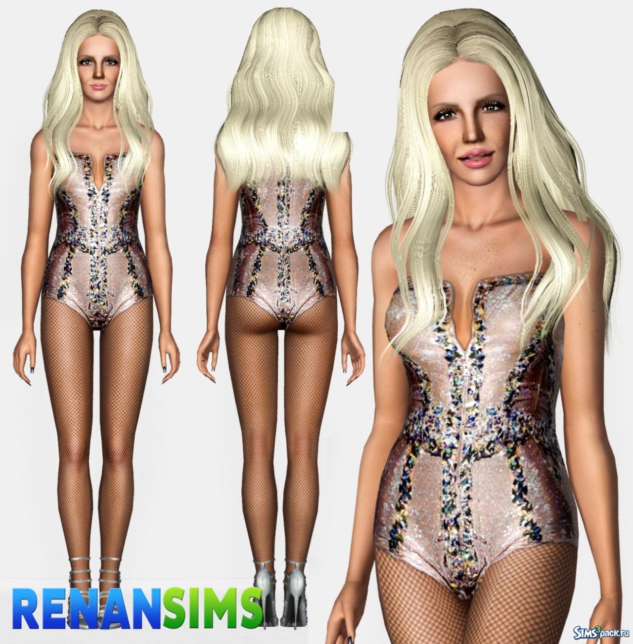 92ac6c6601a29 Скачать коллекция купальников Britney Spears от Renansims для Симс 3