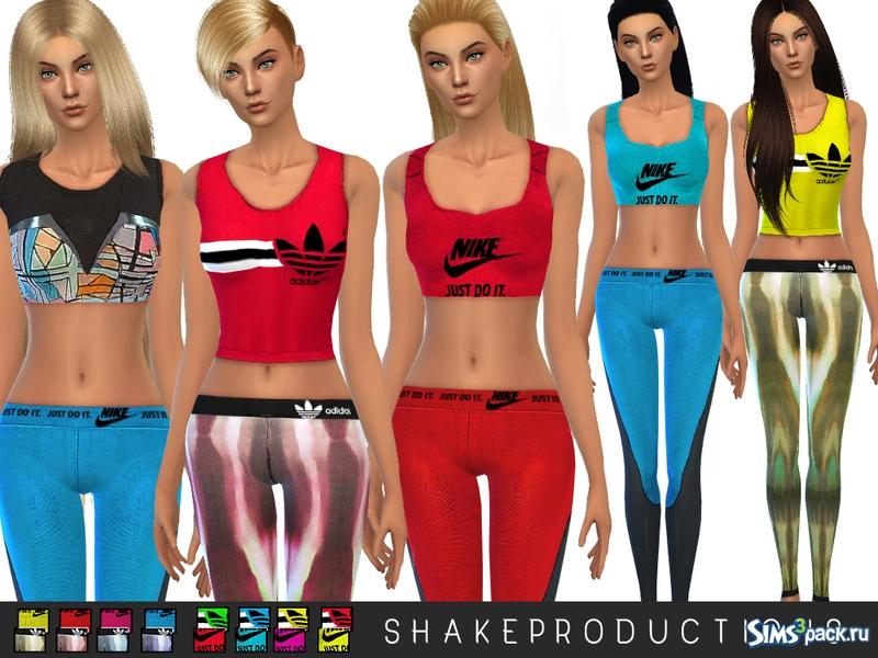14b666b6b Одежда ShakeProductions 13 SPORT SET от ShakeProductions. Спортивный ...