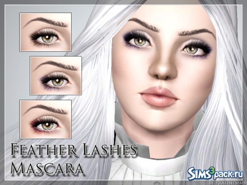 Тушь для ресниц Feather Lashes Mascara от Pralinesims