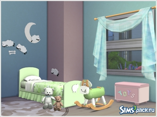 "Набор мебели ""Kids room 'Baby sheep"" от Severinka"