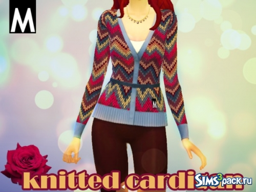 "Кадиган ""Knitted Cardigan"" от girlwithumbrella"