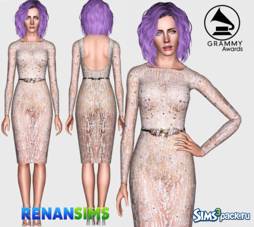 Платье Katy Perry Grammy 2015 RenanSims от RenanSims