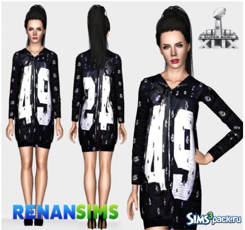 Костюм Katy Perry Super Bowl 003 от RenanSims