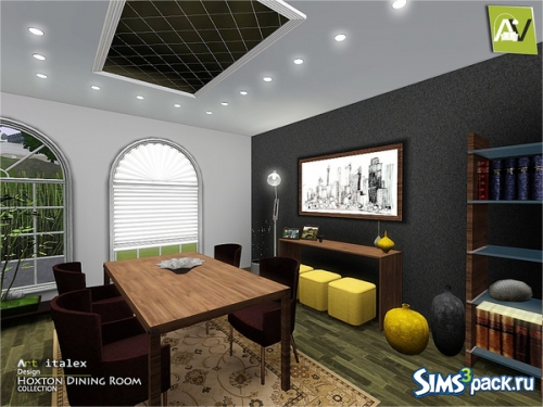 "Столовая ""Hoxton Dining Room"" от ArtVitalex"