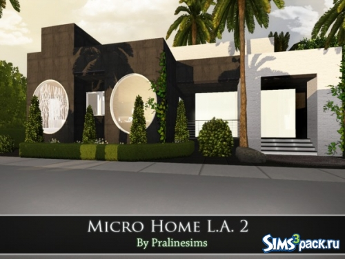 "Дом ""Micro Home L.A. 2"" от Pralinesims"