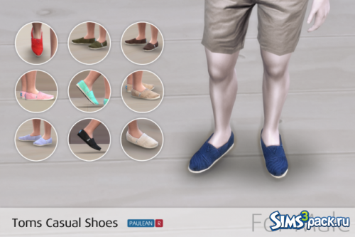 Тапочки Toms Casual Shoes For Male от PauleanR