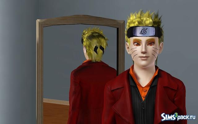 Sims 3 персонажи из наруто игры мастер губка боб