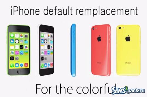 Скачать замена телефона по умолчанию от nana для симс 4.