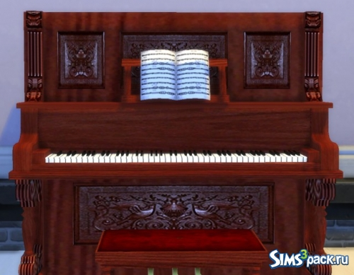Пианино The Sims 2 Upright Saloon Piano от Esmeralda