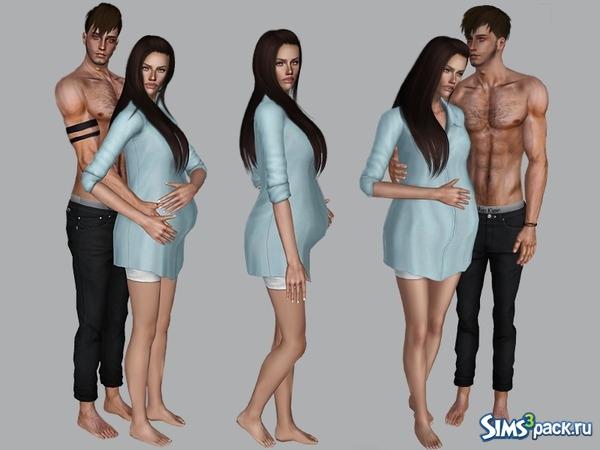 Скачать одежда для беременных от karinarunda для симс 3.