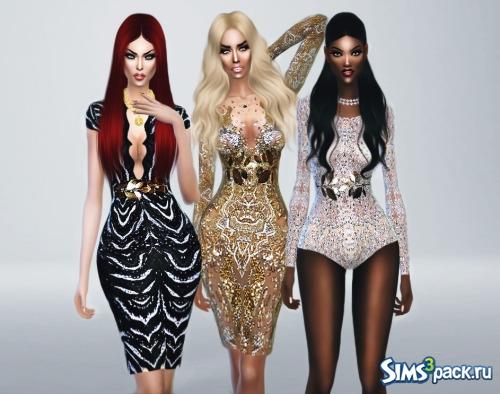 bbeb02491f1 Скачать коллекция женской одежды от FashionRoyaltySims для Симс 4