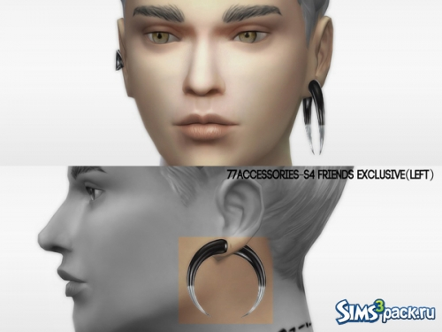 Серьги_Friends exclusive Set от The 77 sims