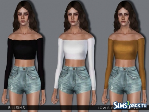 Кроп-топ Sleeves Crop Top от Bill Sims