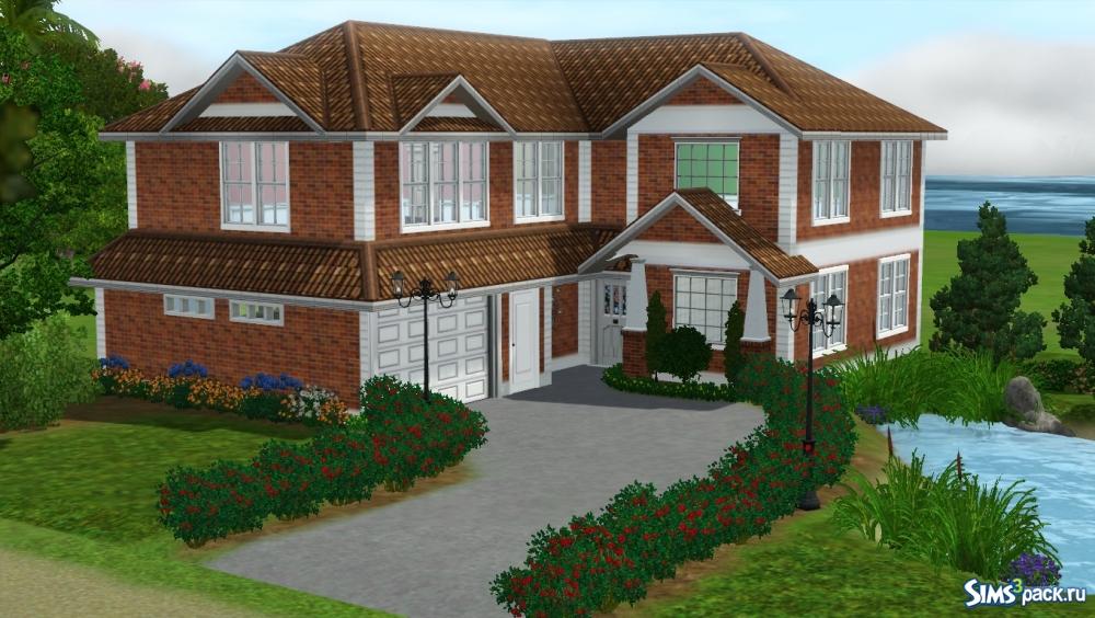 Скачать дом будущего от simshowtos для симс 3.