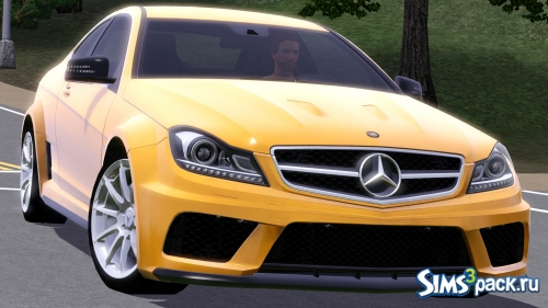 Автомобиль Mercedes-Benz C63 AMG Coupe Black Series от Fresh-Prince