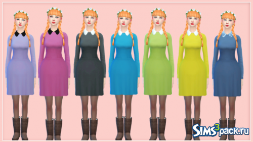 Платье Autumn Dress от mysimlifefou