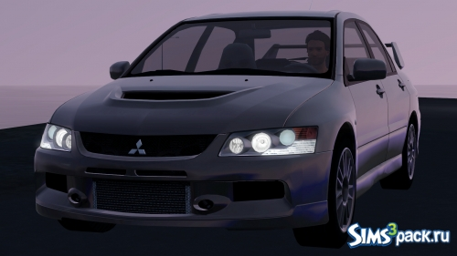 Автомобиль Mitsubishi Lancer Evolution IX MR от Fresh-Prince