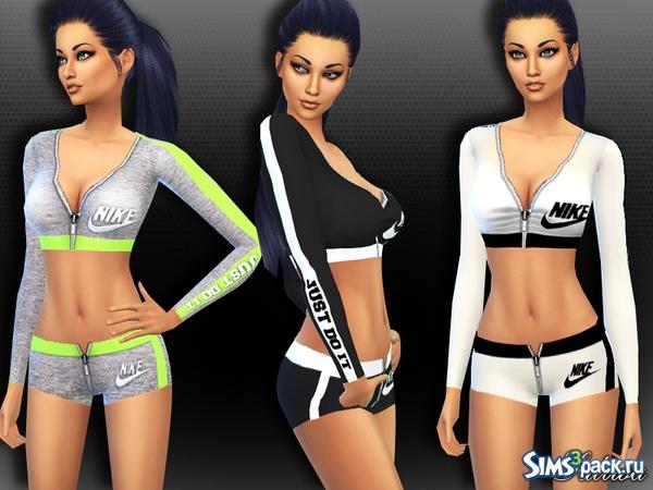 bb7ac5c07 Скачать спортивный костюм Nike от Saliwa для Симс 4