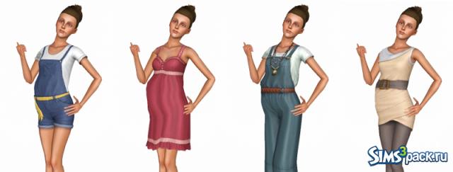 Скачать одежду для симс 3 большой каталог одежды для симов.