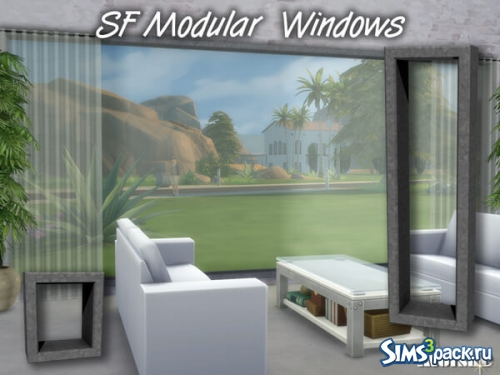 Окна SF Modular Windowset от mutske