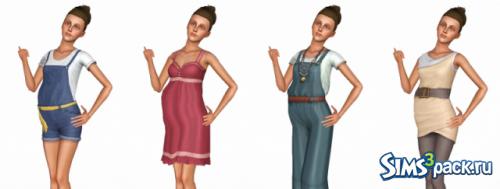 Где в симс 3 найти одежду для беременных