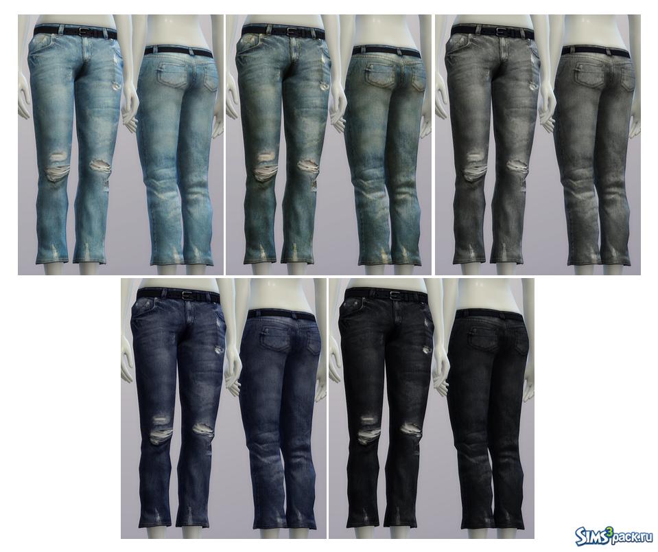 Скачать мужские джинсы от McLayneSims для, симс