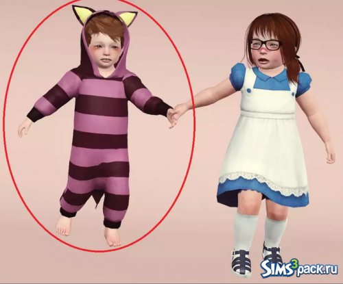 Костюм Cheshire Cat Costume от myamazingsims