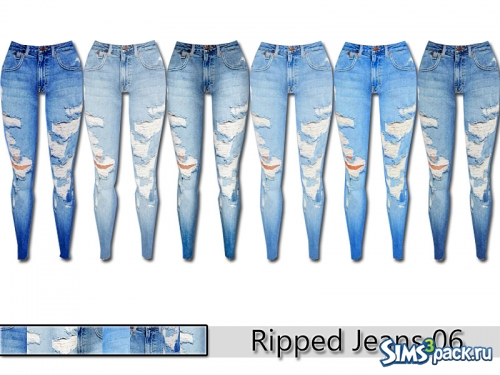 Джинсы Ripped Denim 06