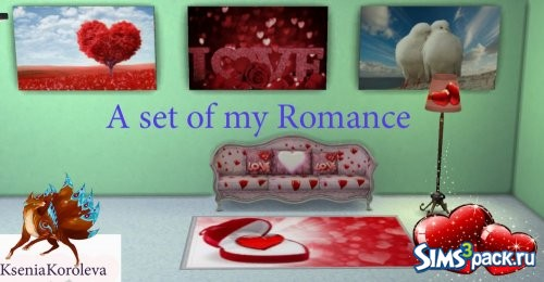 "A set of ""My Romance"" / Набор ""Моя Романтика"""
