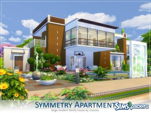 Дом Symmetry Apartment