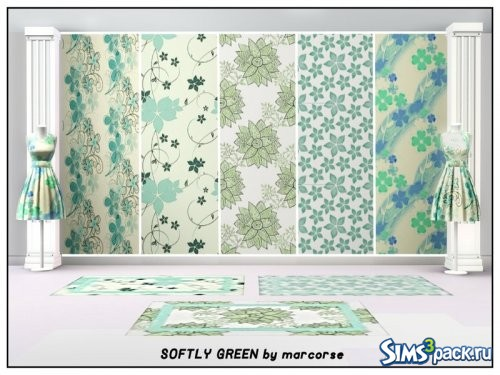 Текстуры Softly Green