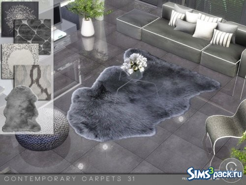 Сет ковров Contemporary Carpets 31