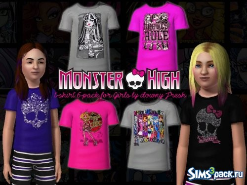 Футболки Monster High