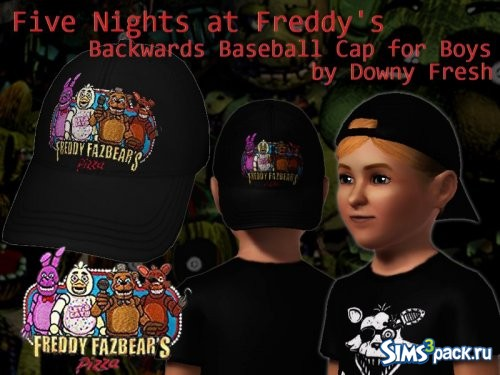 Бейсболки Five Nights At Freddy