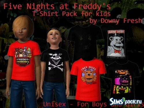 Футболки Five Nights At Freddy