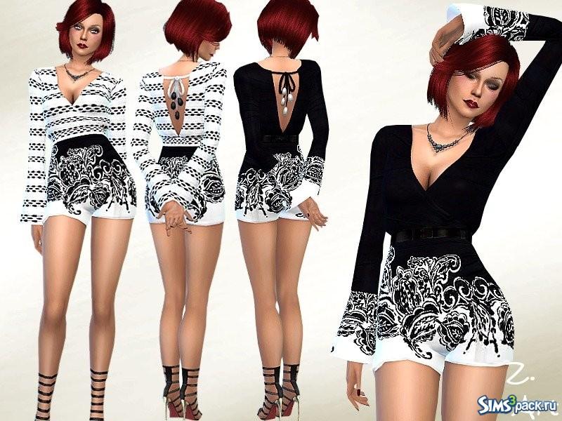25e96089a79 Одежда для Симс 4 - скачать бесплатно одежду для Sims 4 - Страница 596