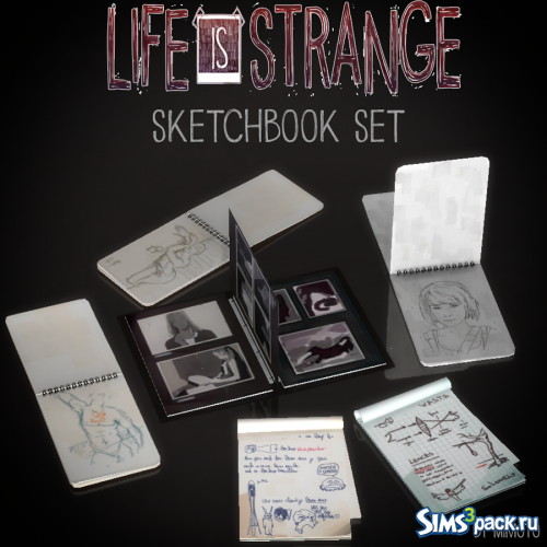 Набор декора Life is Strange: SketchBook