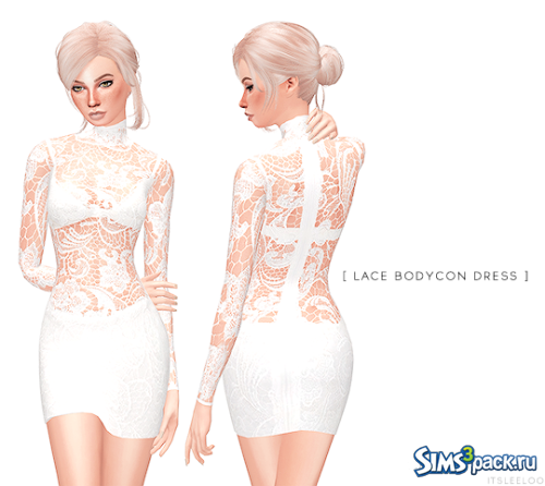 Платье LACE BODYCON